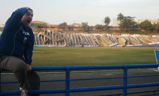 Estádio Bruno José Daniel destruído