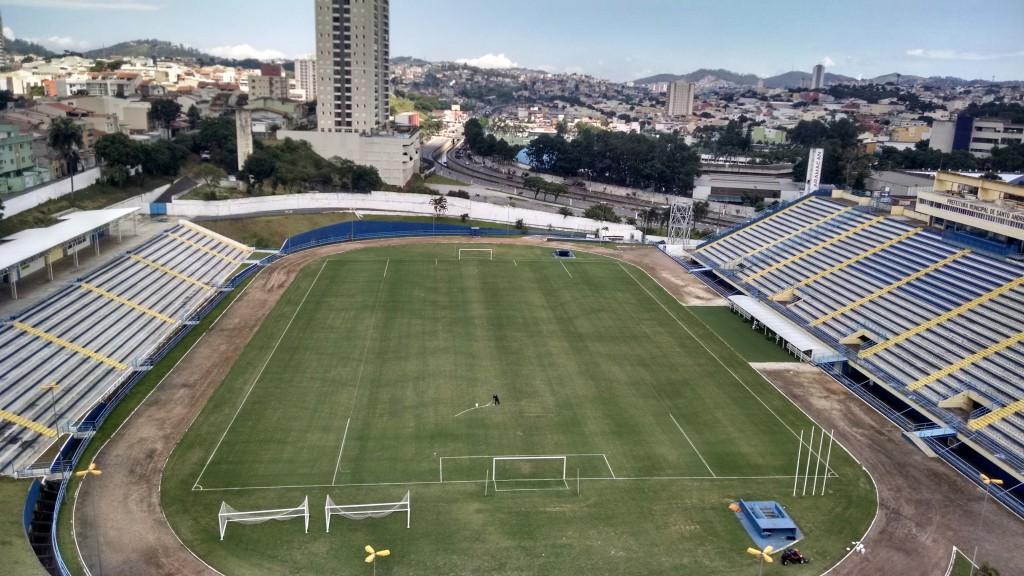 Estádio Bruno José Daniel reconstruído
