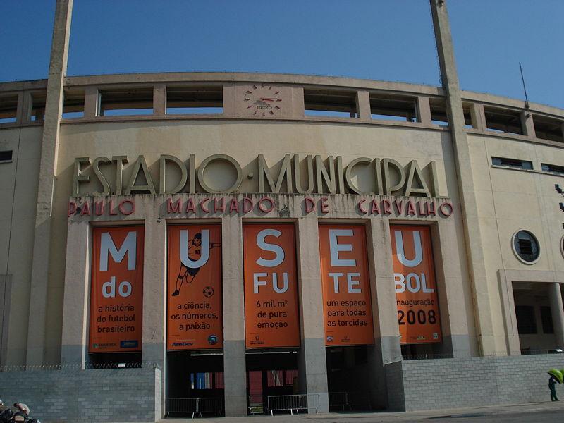 Estádio do Pacaembu - Museu do futebol