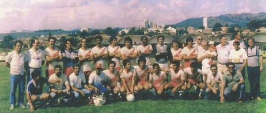 ginásio Pinhalense 1986