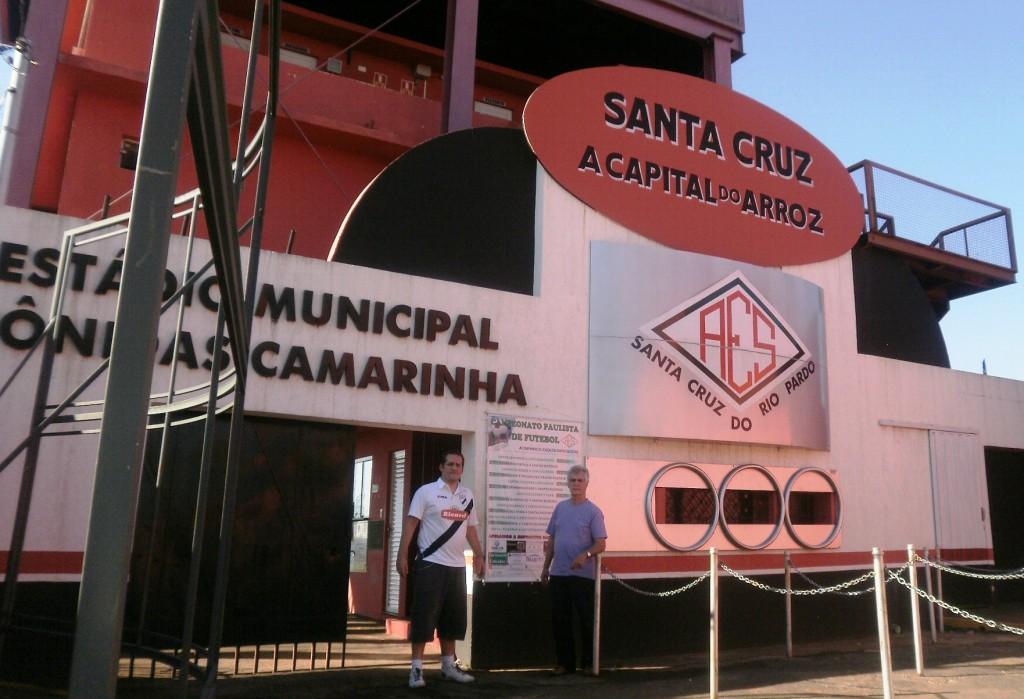 Estádio Municipal Leônidas Camarinha - Associação Esportiva Santacruzense