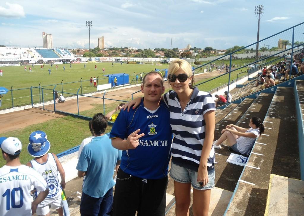 Estádio Municipal Bruno Lazzarini - CA Lemense - Leme