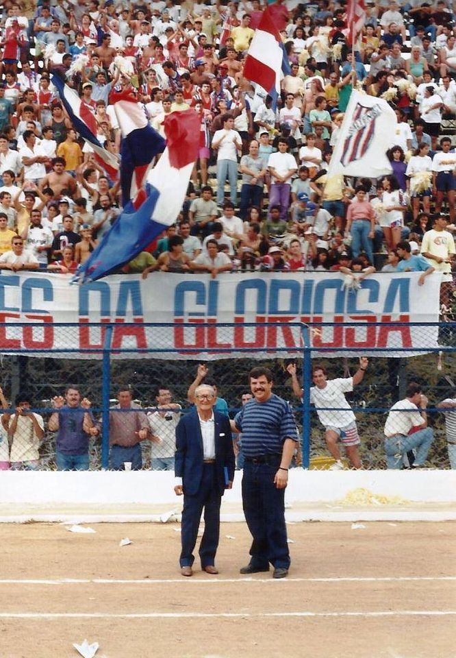Derbi saltense 1992 - Estádio Municipal amadeu Mosca