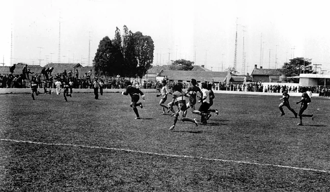 Dérbie saltense 1976 - Estádio alcides Ferrari