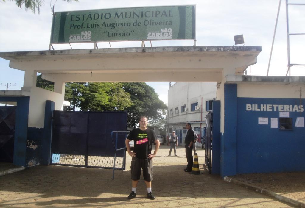 Estádio Municipal Professor Luis Augusto de Oliveira - São Carlos