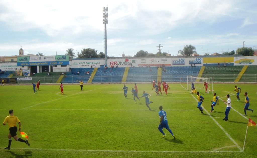 Gol do São Carlos FC