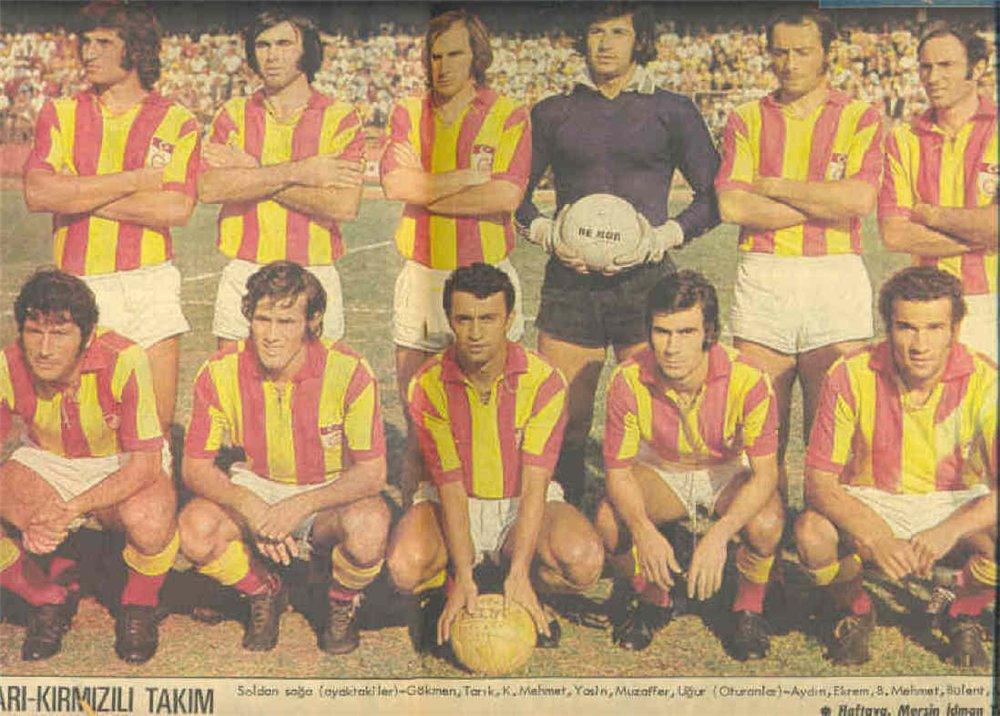Galatasaray tricampeao 1973