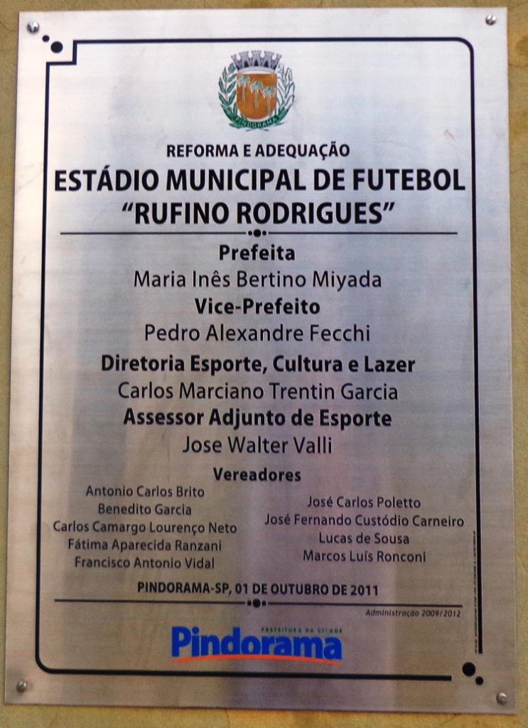 Estádio Municipal Rufino Rodrigues