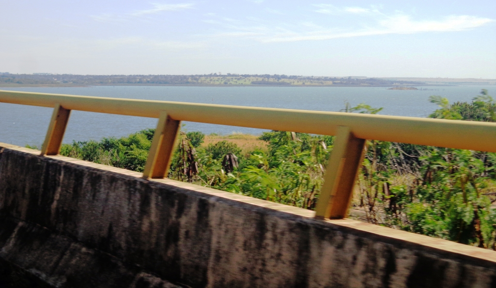 Ponte Rio Paraná sentido Aparecida do Taboado
