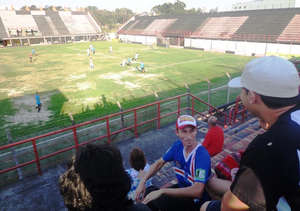 AD Guarulhos 1x4 EC São Bernardo - série B do Campeonato Paulista 2015