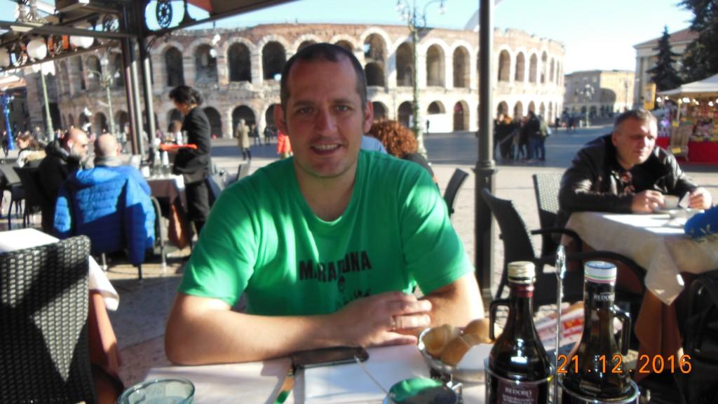 Restaurante italiano em Verona