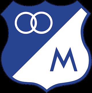 Distintivo do Millonarios FC - Colombia