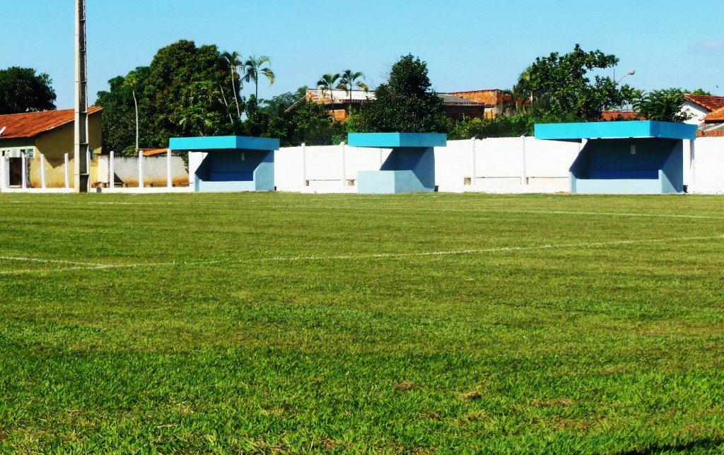 Estádio São Lourenço, atual Estádio Augusto Gonçalves - Urupês
