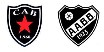 Distintivo do CA Botafogo e AA Barra Bonita