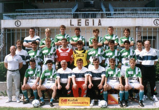 Legia Warsawa 1991