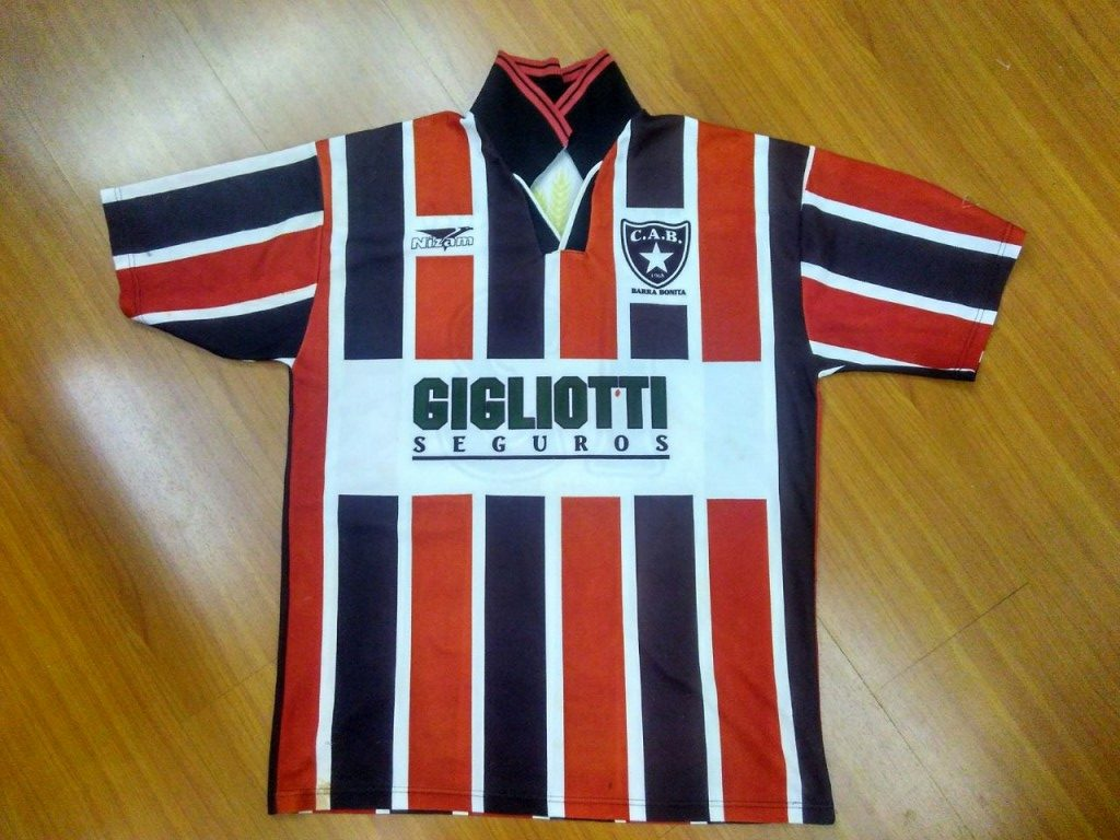 Camisa do Botafogo de Barra Bonita