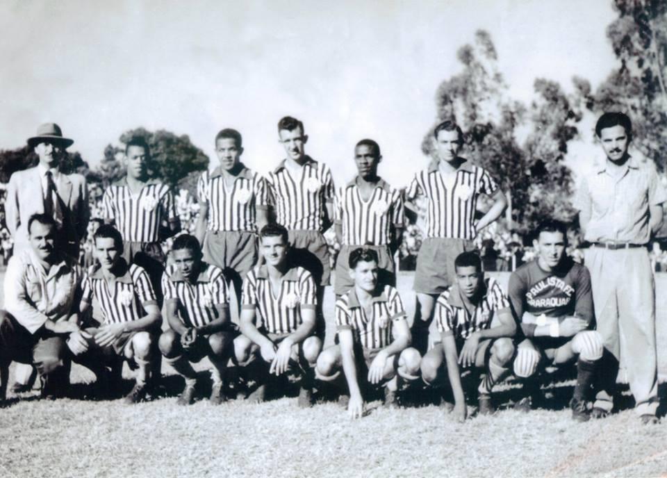 Paulista de Araraquara x Palmeiras 1950