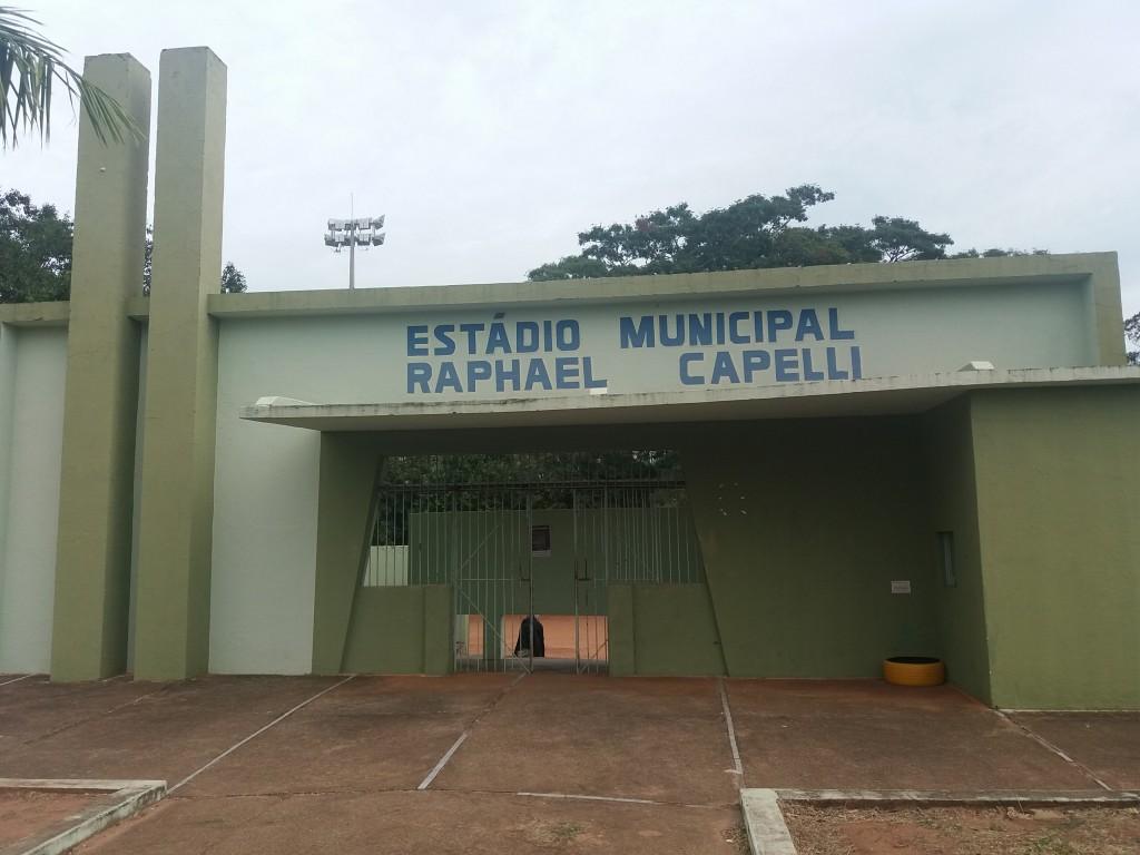 Estádio Municipal Raphael Capelli - Junqueirópolis