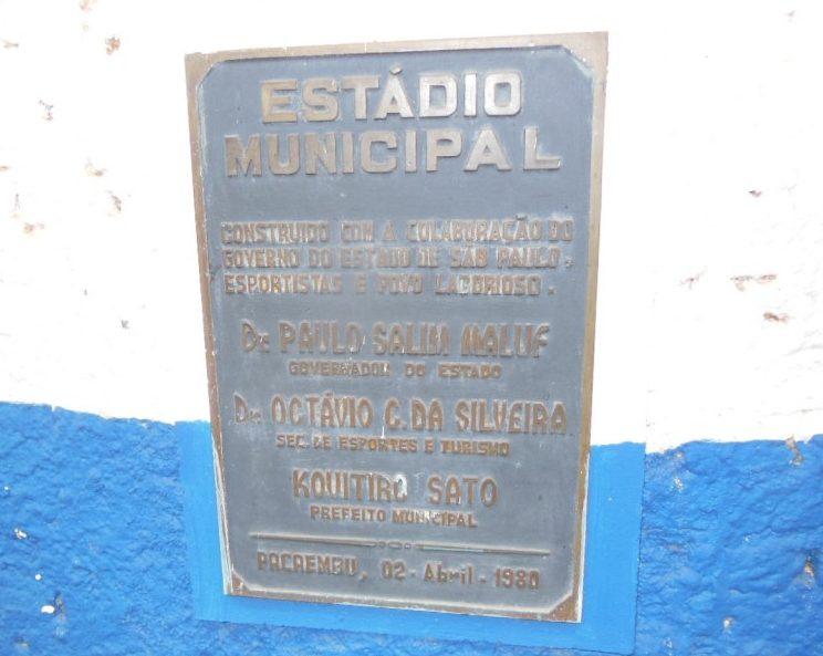 Estádio Ari Aparecido dos Santos - Pacaembu EC
