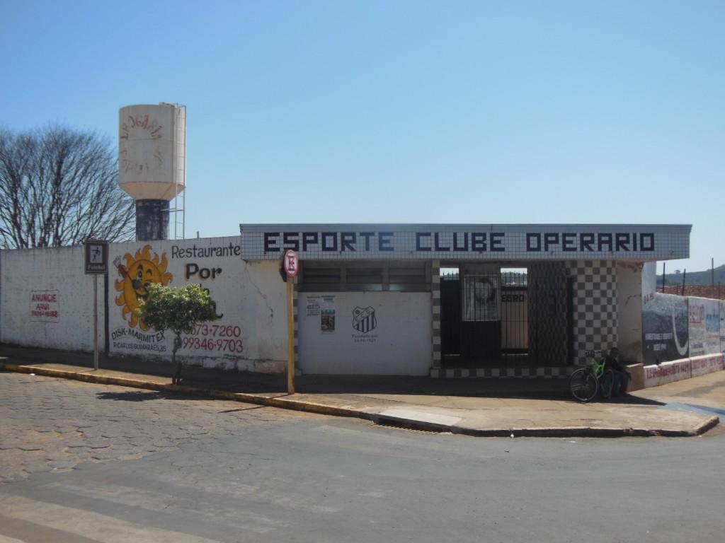 Estádio Carlos de Almeida - Esporte Clube Operário - Tambaú