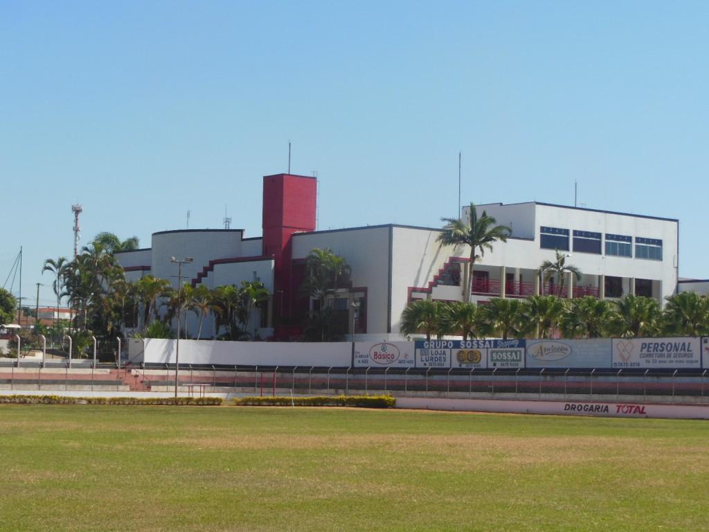 """Estádio Coronel Penteado, o """"Estádio do Coronel"""", Esporte Clube Palmeirense - Santa Cruz das Palmeiras"""