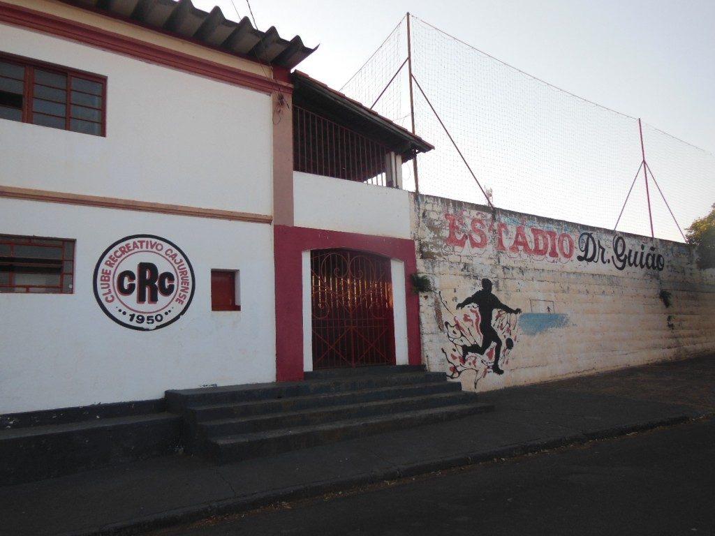 Estádio Municipal Dr Guião - Clube Recreativo Cajuruense - Cajuru