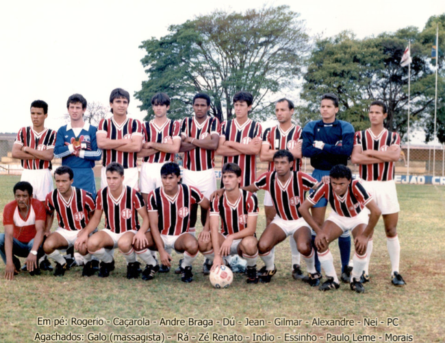 EC Palmeirense - 1989/1990