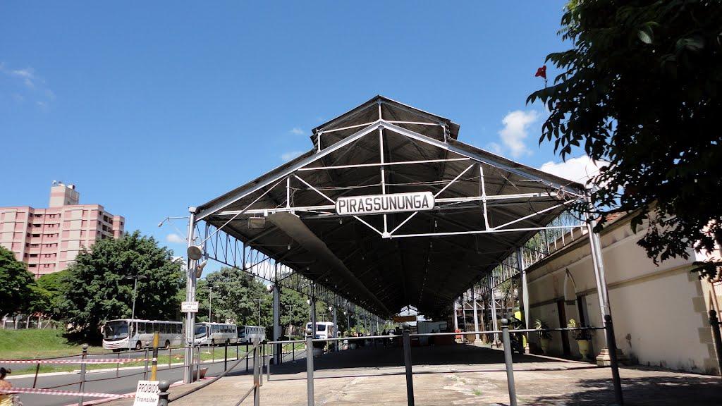 estação trem pirassununga