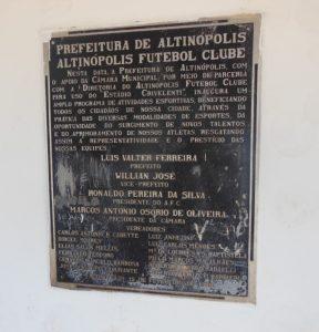 Estádio Municipal Sileno Crivelente - Altinópolis FC