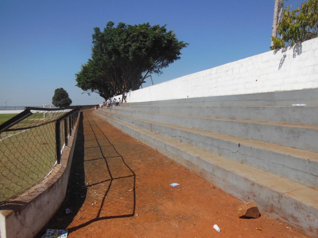 Estádio Sileno Crivelente - Altinópolis FC - Altinópolis