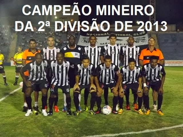 Nacional - Campeão 2a divisão 2013