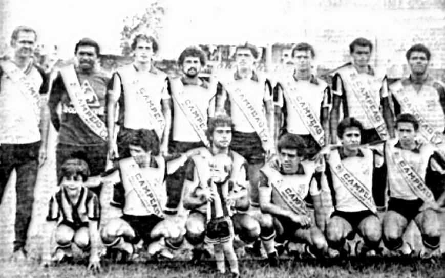 Nacional FC campeão mineiro da segundona 1982