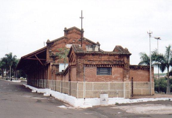 estação de trem de Orlandia - Cia Mogiana de Estradas de Ferro