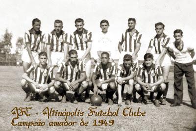 Altinópolis FC 1949 - campeão amador do estado