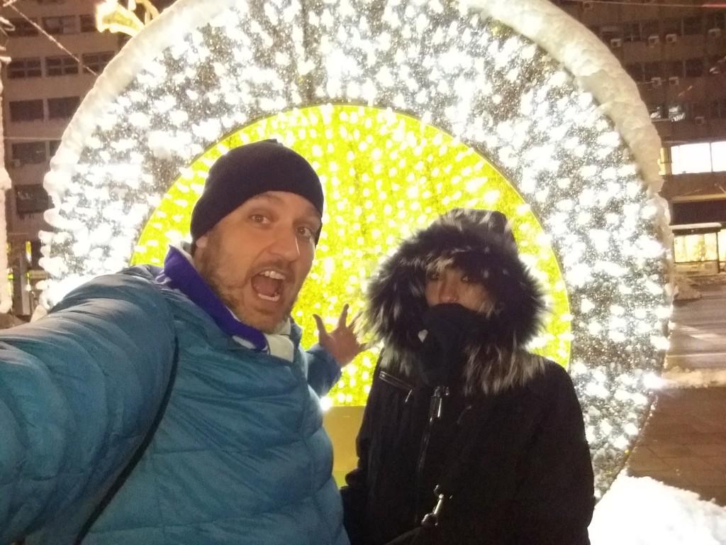 Natal em Belgrado