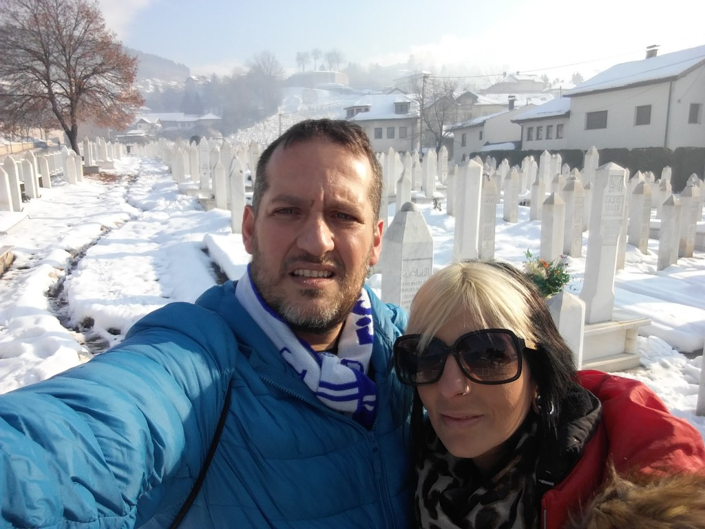 Cemitério Sarajevo - Bósnia Herzegovina