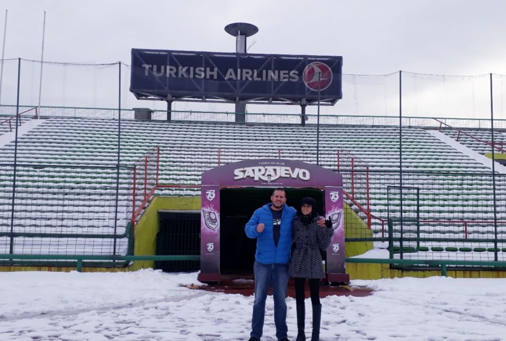Estádio Asim Ferhatović Hase - FK Sarajevo