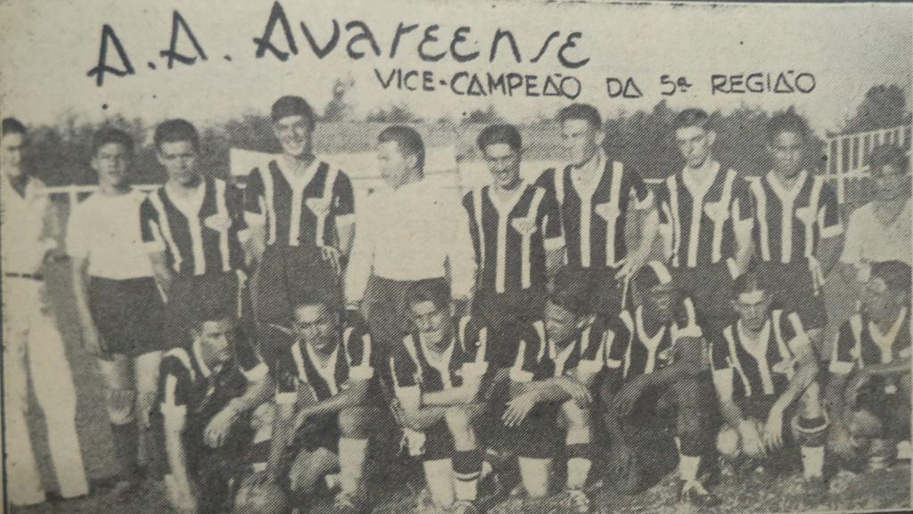 Associação Atlética Avareense - 1940