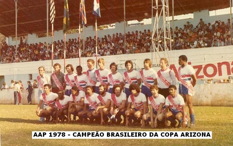 AA Portofelicense campeã 1978 - Estádio Dr. Julien Fouque