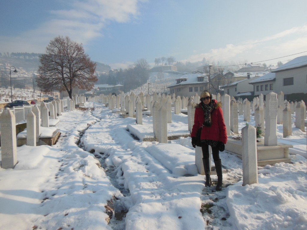 cemitério Šehidsko Mezarje Kovač