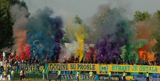 Zemun fans