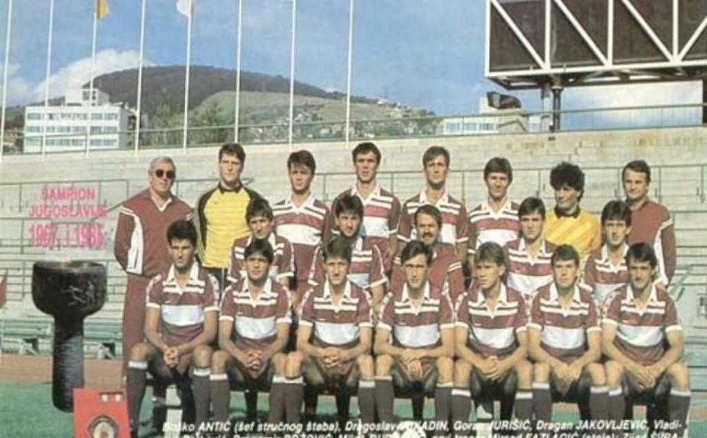FK Sarajevo 1985