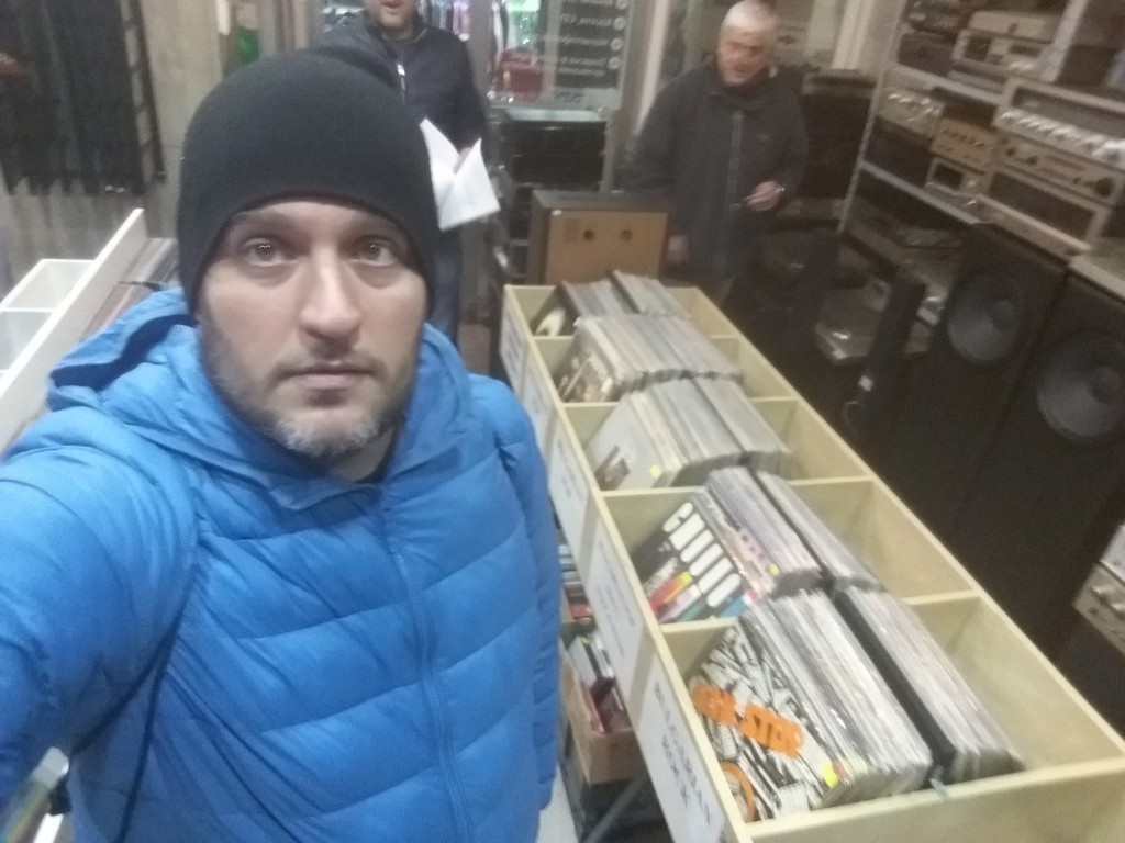 Discos de vinil em Sófia - Bulgária