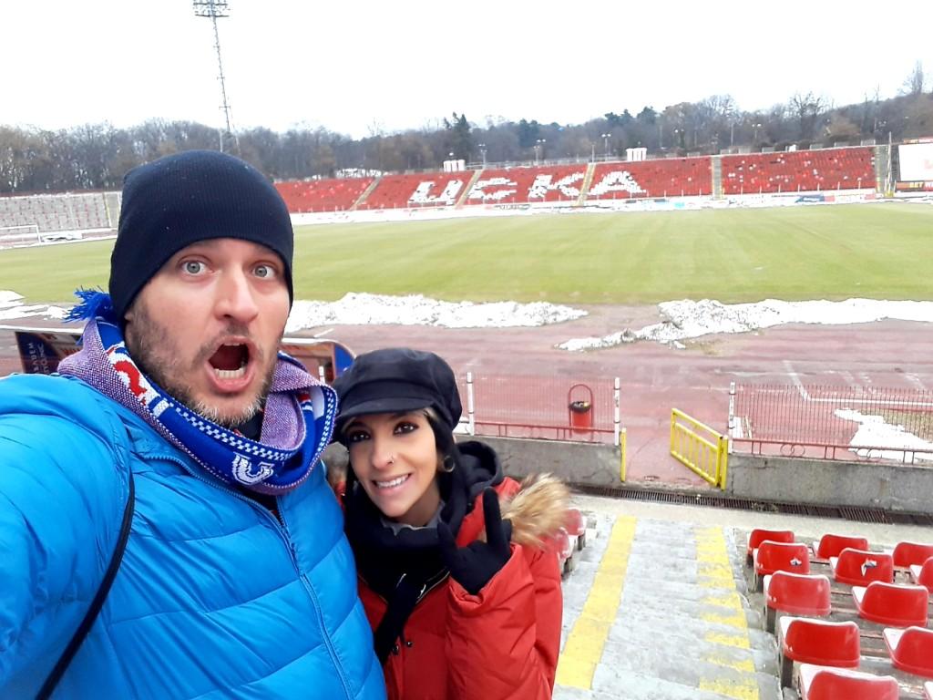 Estádio do CSKA - Sófia - Bulgária