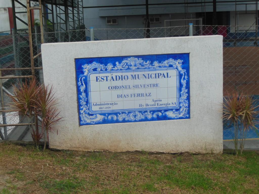 Estádio Municipal Coronel Silvestre Dias Ferraz - Maria da Fé-MG