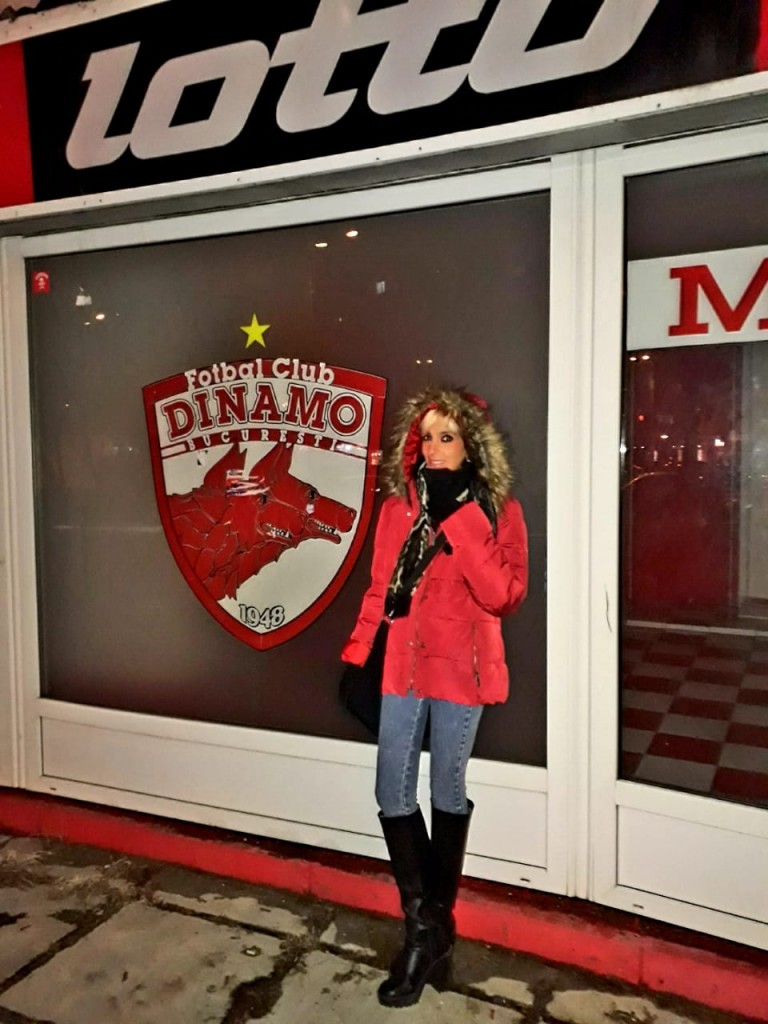 Estádio do FC Dinamo Bucuresti - Romênia