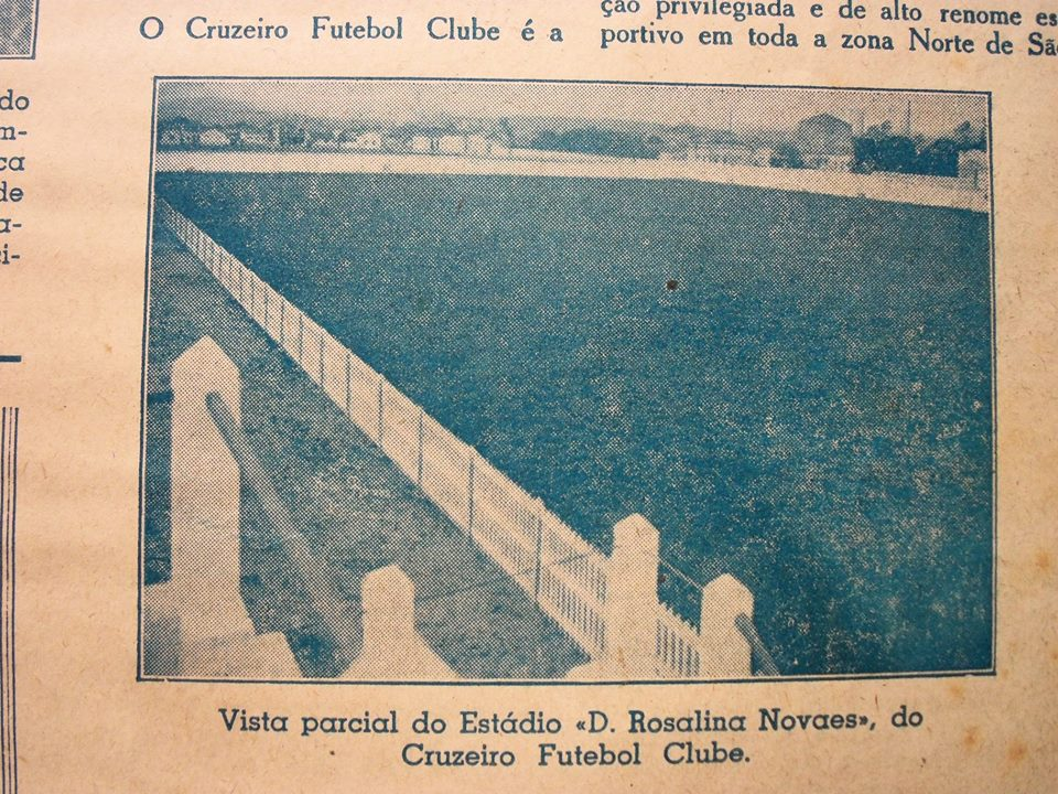 Estádio Rosalina Novaes dos Santos - Cruzeiro-SP