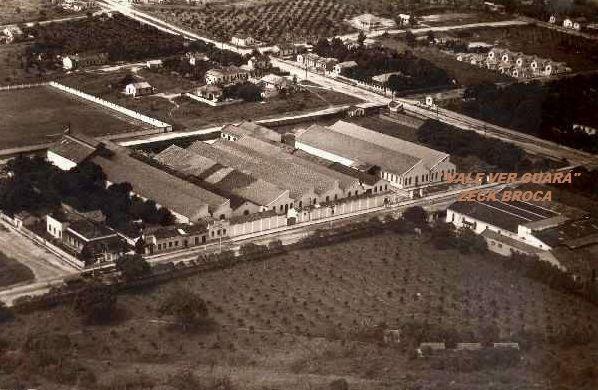 Campo e indústria Tecidos Guaratinguetá