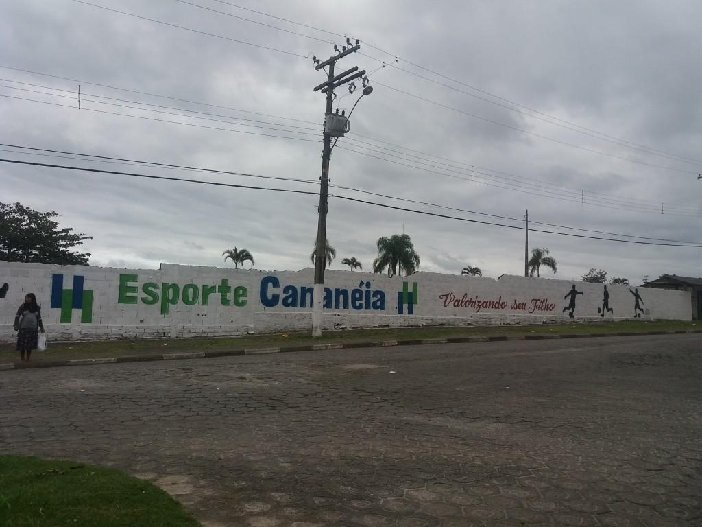 Estádio Municipal Édison Batista Teixeira - Cananéia