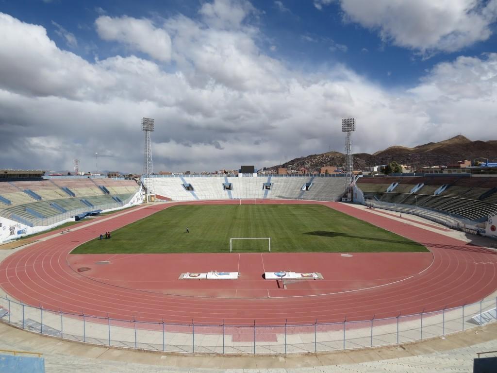 Estádio Jesús Bermúdez - Oruro - Bolívia